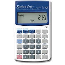 kitchen calculator pulls and knobs calc with digital timer calculated industries ebay hand held