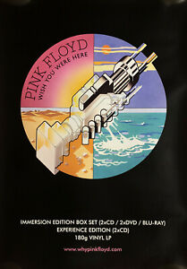 Pink Floyd - Wish You Were Here : floyd, Floyd, Immersion, Edition, Promo, Poster, Original, Waters