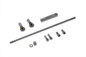 Shifter Rod Kit Chrome 13-1/4