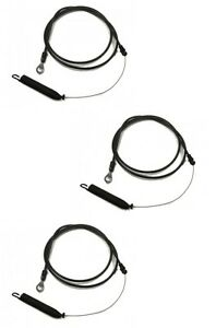 (3) CLUTCH CABLES for AYP Husqvarna 408319 435110