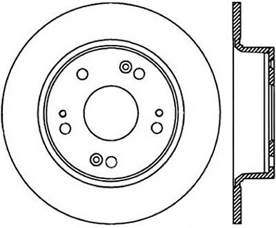 StopTech Disc Brake Rotor Rear Right for Honda Accord