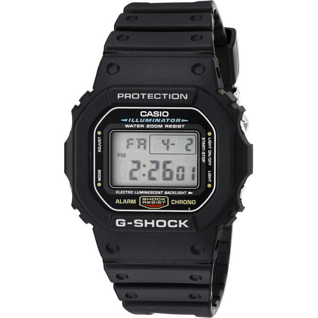 Casio G-Shock DW5600E-1V Wrist Watch for Men for sale online | eBay
