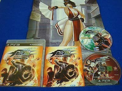 Ps3 King Of Fighters Xiii 13 Deluxe Edition Art Cd Poster Region Free Pal Uk 730865001446 Ebay
