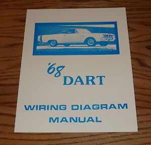 1968 Dodge Dart Wiring Diagram Manual 68 | eBay