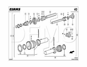 Claas Variant 380/385/RF/RC Spare Parts Catalogue