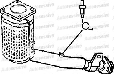 Peugeot 206 1.4 Kfw Kfx Manual Hatchback 01-03 Exhaust