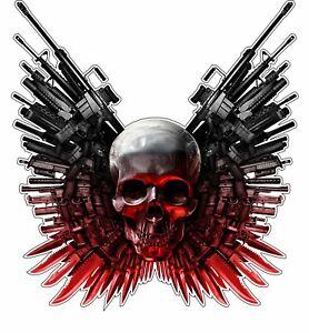 details about skull guns