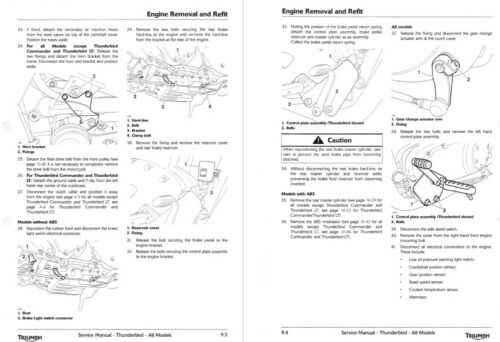 Vehicle Parts & Accessories Other Motorcycle Manuals