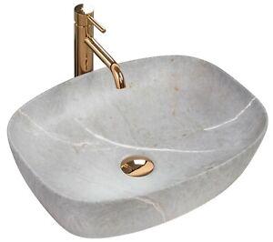 details sur lavabo freja vasque ceramique beige stone pierre imitation moderne rea