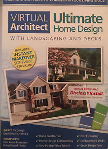 Virtual Architect Ultimate Home Design With Landscaping And Decks 9.0 : virtual, architect, ultimate, design, landscaping, decks, Virtual, Architect, Utimate, Design, W/Landscaping, Decks