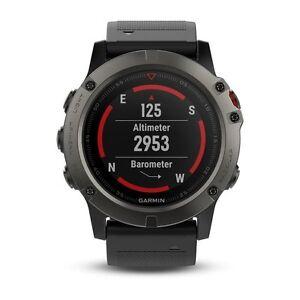 Garmin Fenix 5X Fitness GPS Watch 100K US TOPO Mapping Preloaded 010-01733-00