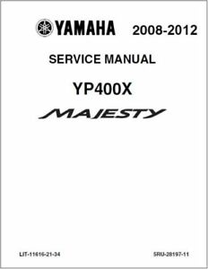 Yamaha Majesty 400 YP400 Service Repair Workshop Manual