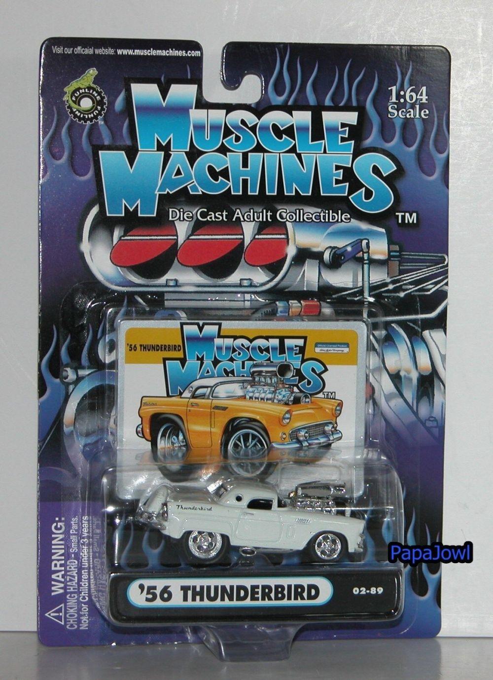 medium resolution of muscle machines 1956 ford thunderbird 56 t bird 2002 release 02 89 1 64