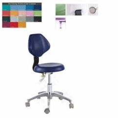 Revolving Chair For Doctor Lounge Chairs Pool Area Pu Leather Dentist S Stool Medical Dental Adjustable Details About Mobile