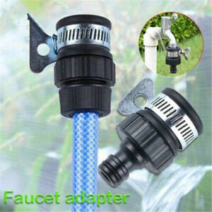 details about universal garden hose pipe connector bathroom kitchen sink water tap adapter us