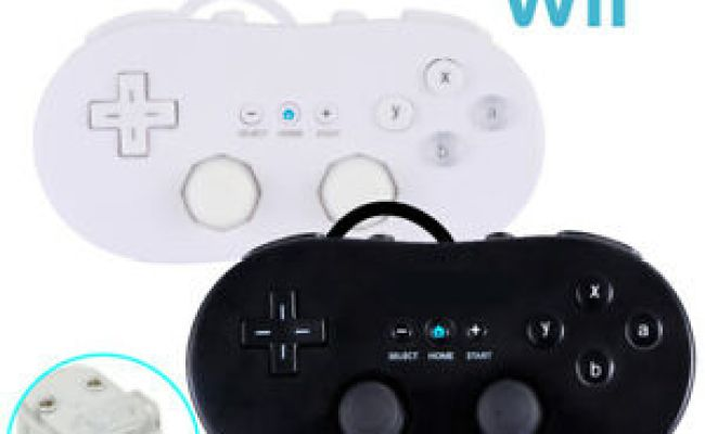 Wired Wii Remote Controller Gamepad Joystick For Nintendo