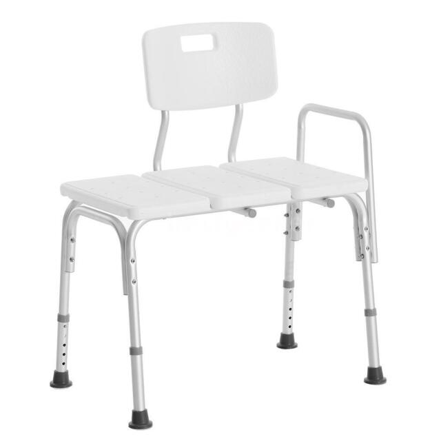 shower chair vs tub transfer bench desk and set seat medical adjustable bathroom bath height b1k2