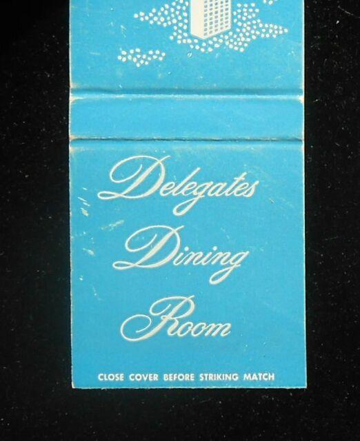 1960s United Nations Delegates Dining Room NYC NY ...