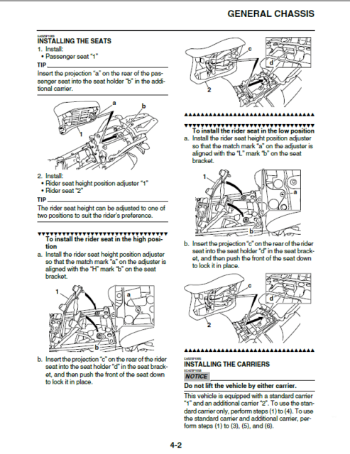2012 Yamaha XTZ12B Super Tenere Motocycle Service Manual