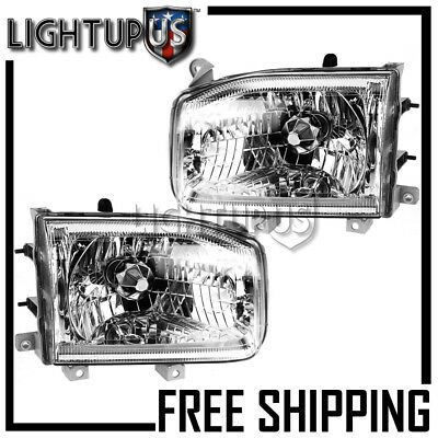 Left Right Sides Pair Headlights Headlamps for 1999-2004