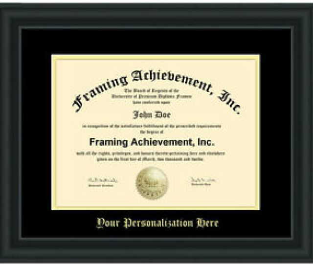 Image Is Loading Diploma Framing University Frame College Degree Plaque Document