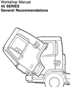 LEYLAND DAF 45 SERIES TRUCK SERVICE REPAIR MANUAL Horse