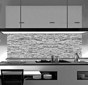 Acrylglas Küchenrückwand Stein Spritzschutz Herd Fliesenspiegel SP673 eBay