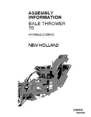 NEW HOLLAND 70 Bale Thrower Hydraulic Drive Assy