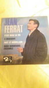 Jean Ferrat C'est Beau La Vie : ferrat, c'est, DISQUE, VINYLE, FERRAT