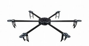 Turnigy Talon Hexcopter Carbon Fiber Frame Set 625mm Drone