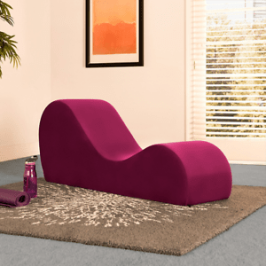 long chair couch sofa swivel cuddle soft sex loveseat exotic lounge merlot yoga stretch image is loading