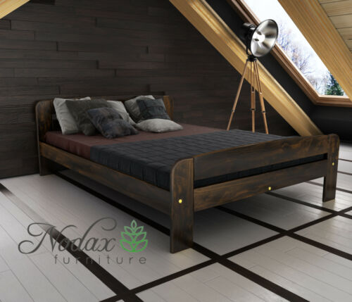 nodax meubles en bois pin massif berceau 6ft uk taille noyer alder chene f2 articles pour la maison cadres de lit et lits coffres pour la maison alfa bau gmbh de