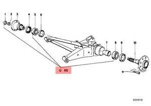 Genuine BMW E12 E23 E24 E3 E9 Wheel Bearing Repair Kit OEM