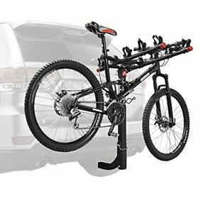 details about tyger auto 2 bike hitch mount bicycle carrier rack portabicicletas new