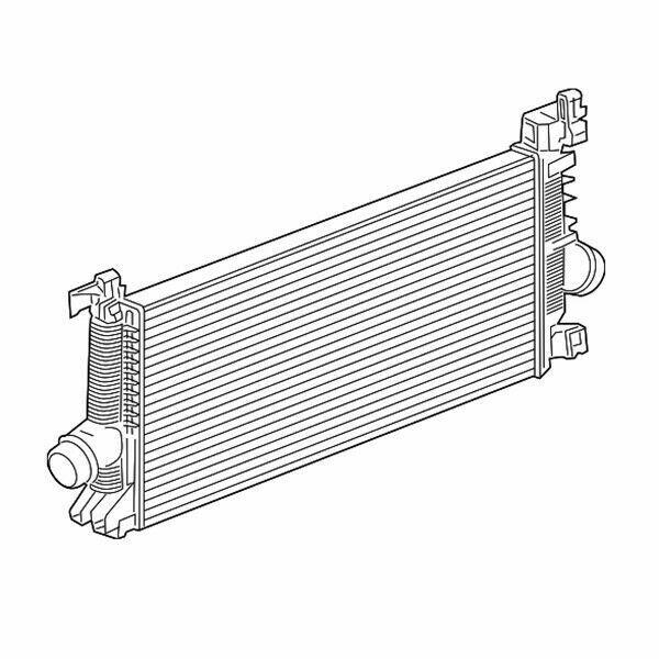 Intercooler Kit 13330387 11-15 Chevrolet Cruze 16-16