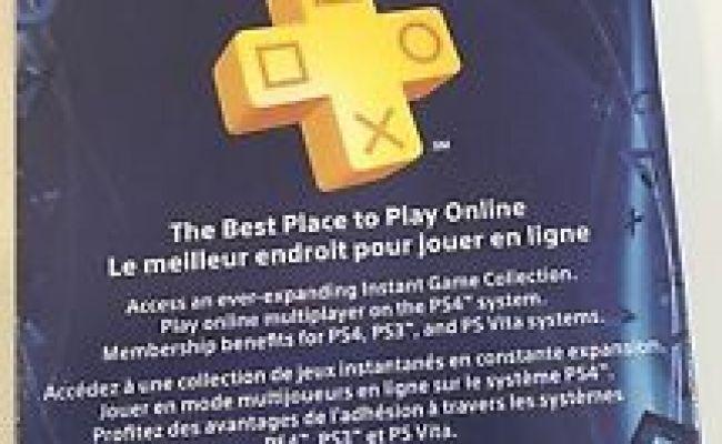 Sony Playstation Plus 1 Year 12 Months Membership