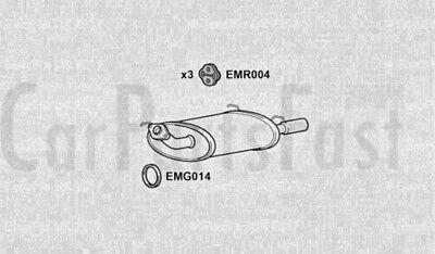 EXHAUST SILENCER to fit NISSAN ALMERA I (N15) 1.4 S,GX,LX