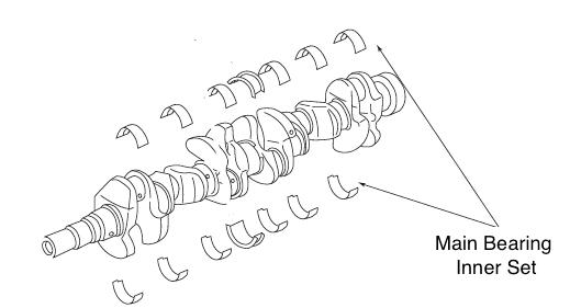 NISMO Main Bearing Inner For SKYLINE GT-R R32 R33 R34
