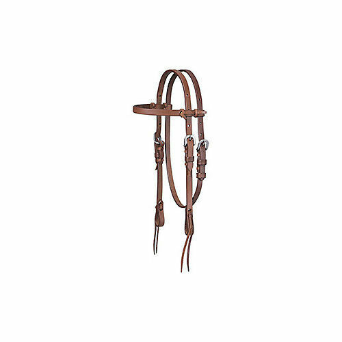 Tough-1 Tough 1 Mini Harness Browband Headstall W/tie for