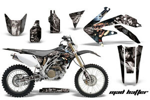 Dirt Bike Decal Graphics Kit Sticker Wrap For Honda