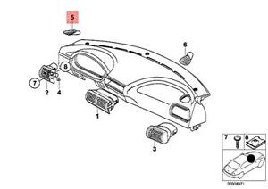 Genuine BMW Z3 M Roadster Covering Defroster Nozzle Left