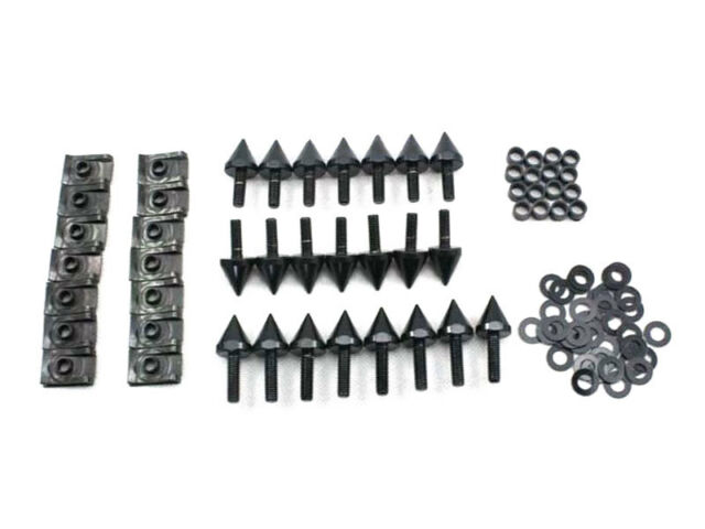 Injection Fairing Spike Bolts Screw Kit For 2000 2001