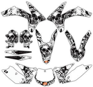 SKYLINE MX BONE CRUSHER MOTOCROSS GRAPHICS KIT KTM SX 50