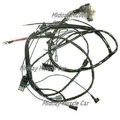 engine wiring harness V8 69 Pontiac GTO LeMans Tempest