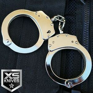 details about police handcuffs