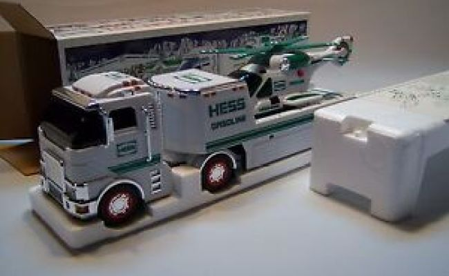 Hess Collectible 2006 Toy Truck Helicopter W Original
