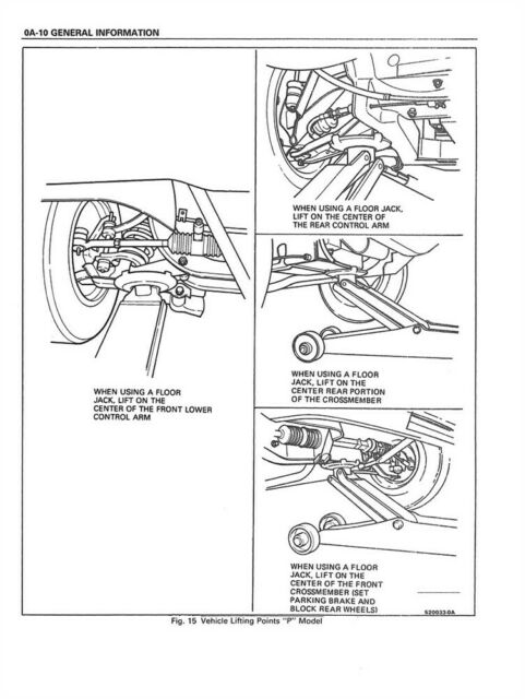 1988 Pontiac Fiero Shop Service Repair Manual Book Engine