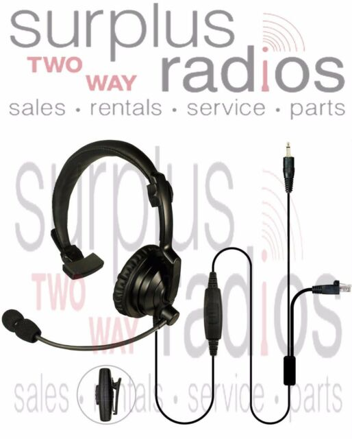 Lightweight Headset Mic Kenwood Mobile Base station TK8180