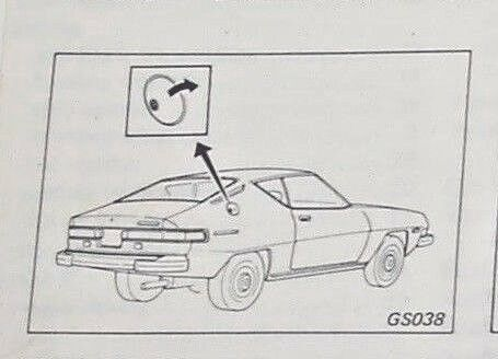 Owners Manual/Guide 1979/79 Datsun 200SX-Engine