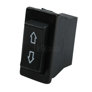 power window fort universal 12v dc green laser wiring diagram auto car dpdt 5 pins switch momentary black image is loading